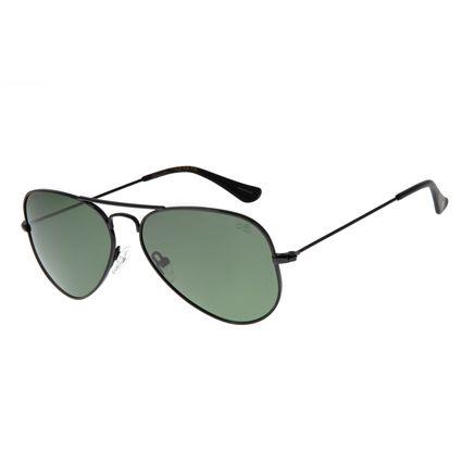 Óculos De Sol Chilli Beans Unissex Polarizado Aviador Preto OC.MT.2512-1501