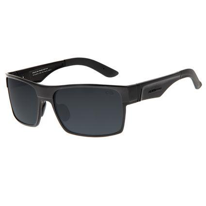 Óculos de Sol Masculino Chilli Beans Esportivo Preto Polarizado OC.AL.0212-0101