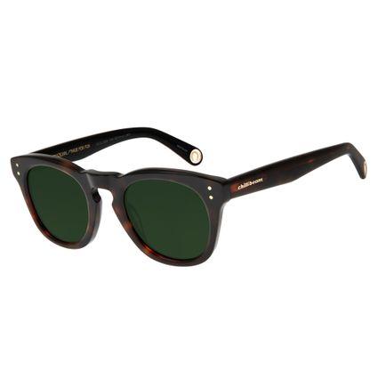 Óculos de Sol Unissex Boto Fé Ferradura Quadrado Tartaruga OC.CL.2638-1506