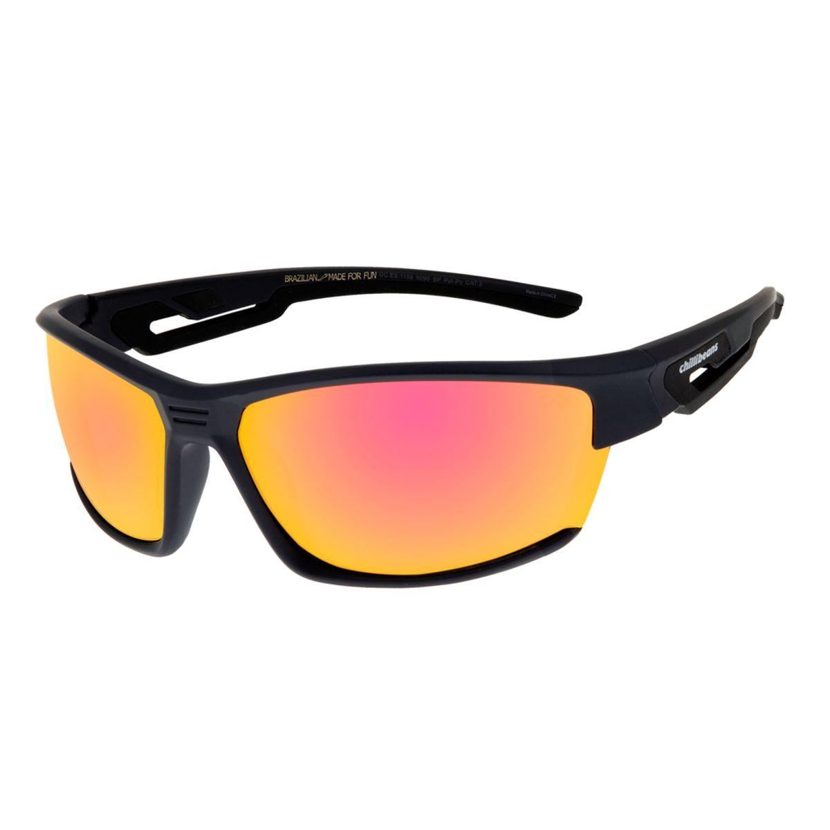769d77f45 Óculos de Sol Masculino Esportivo Chilli Beans Azul 1158 - OC.ES.1158.9290  M. REF: OC.ES.1158.9290. OC.