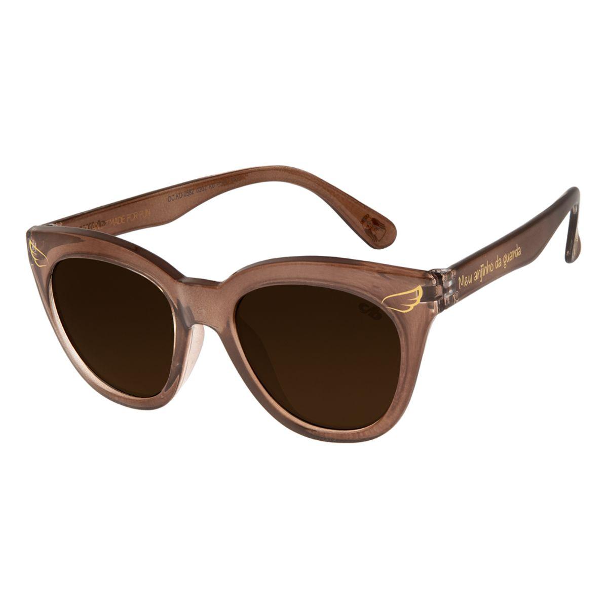 768377c178d74 Óculos de Sol Infantil Chilli Beans Marrom 0582 - Chilli Beans