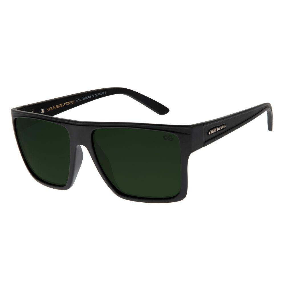 Óculos de Sol Unissex Chilli Beans Cinza 2203 - OC.CL.2203.2628 M.  OC.CL.2203.2628 0e0d0bcf20