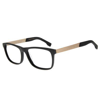 Armação para Óculos de Grau Masculino Boto Fé DouradoLV.AC.0514-0121