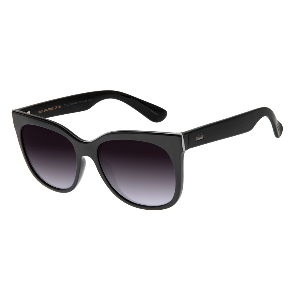 Óculos de Sol Feminino Chilli Beans Preto 2609 - OC.CL.2609.2001 M.  OC.CL.2609.2001 642ecc1e55