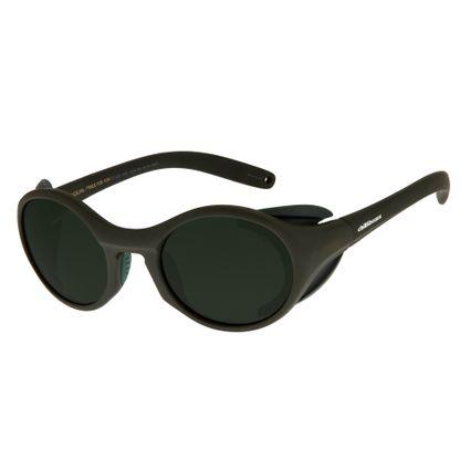 Óculos de Sol Masculino Chilli Beans Redondo Verde OC.ES.1167-1526