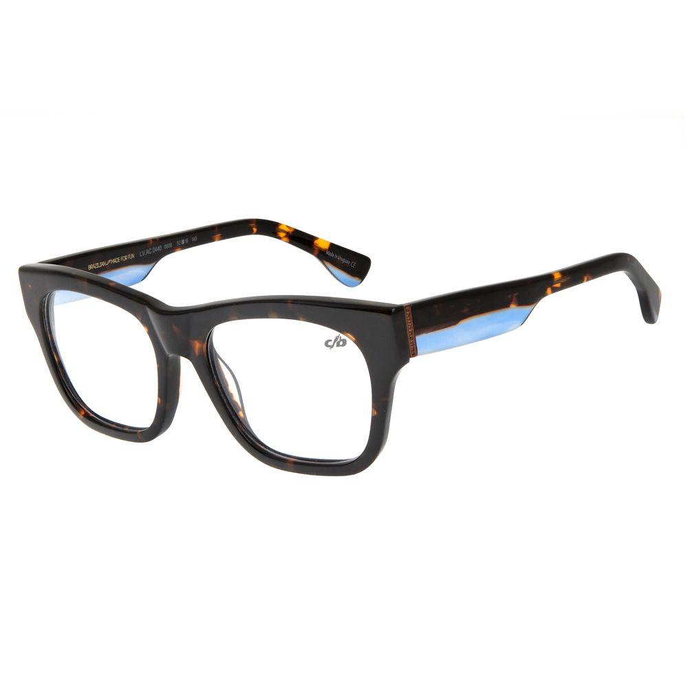 Armação Para Óculos de Grau Unissex Chilli Beans Tartaruga LV.AC.0440-0606