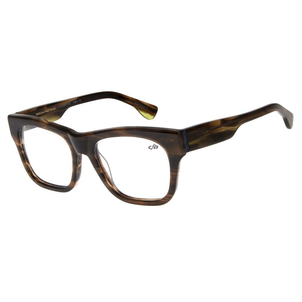 Armação Para Óculos de Grau Unissex Chilli Beans Marrom LV.AC.0440-0202