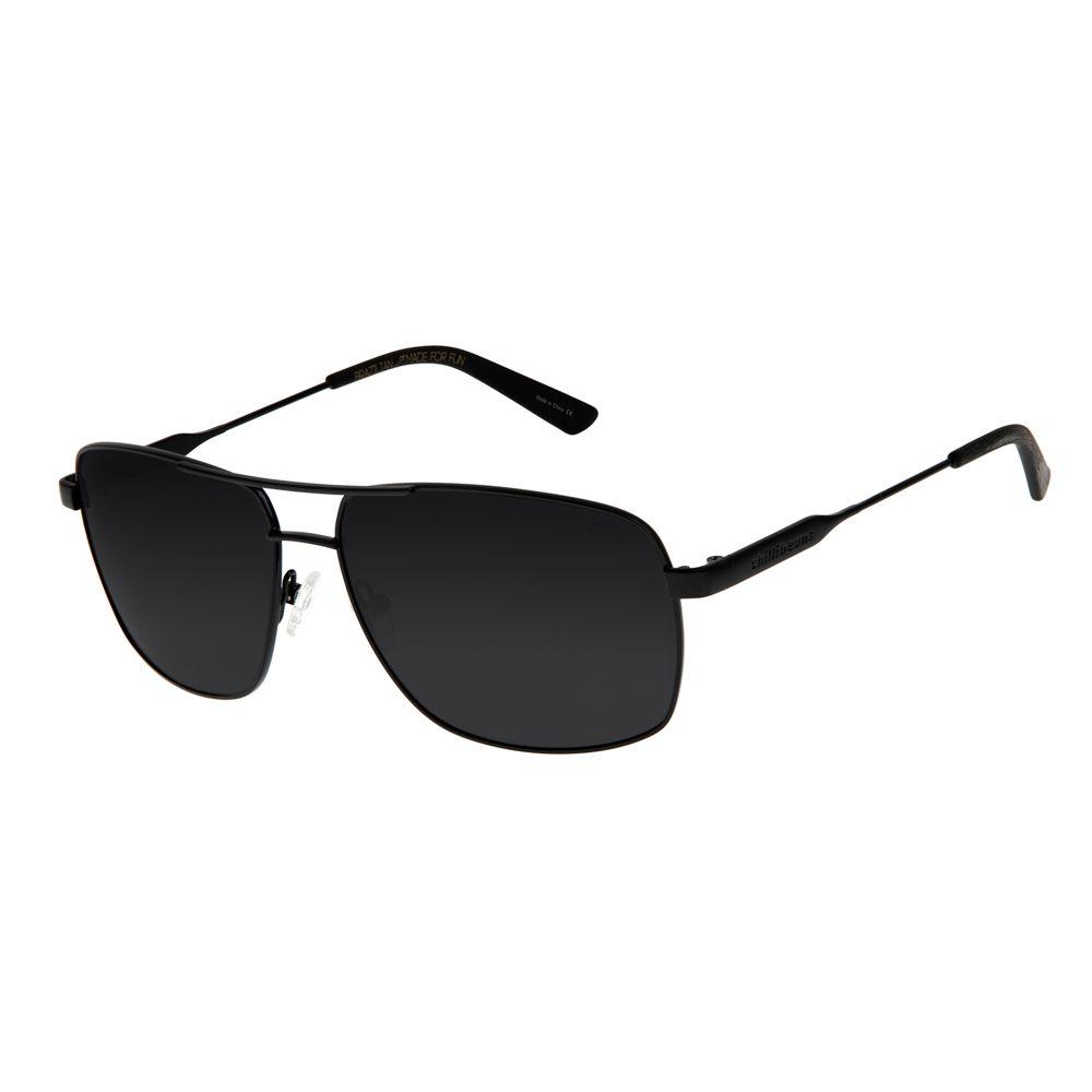 Óculos de Sol Masculino Chilli Beans Executivo Preto Polarizado OC.MT.2538-0501