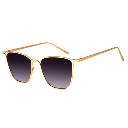 Óculos de Sol Feminino Chilli Beans Dourado 2574 72db3a312a