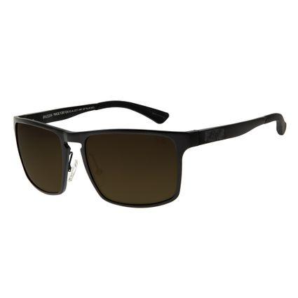 Óculos de Sol Masculino Chilli Beans Esportivo Cinza Polarizado OC.AL.0213-0401