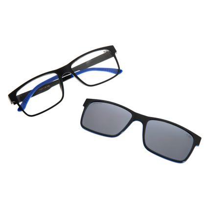 Armação Para Óculos Grau Masculino Chilli Beans Multi Quadrado Preto LV.MU.0137-0104