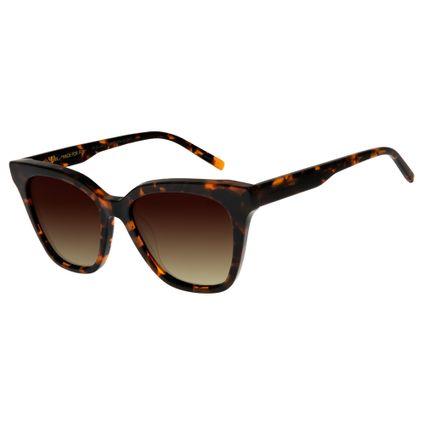 Óculos de Sol Feminino Chilli Beans Tartaruga Polarizado OC.CL.2645-0206