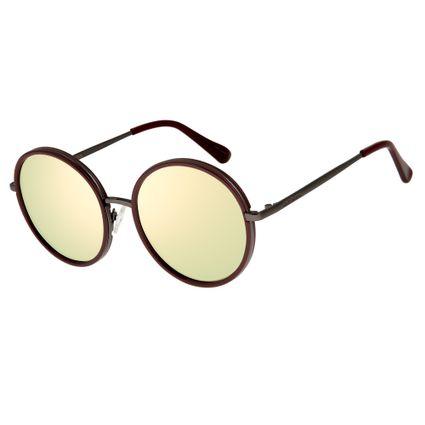 bbab1845a4a97 Óculos de Sol Feminino Chilli Beans Vinho 2570