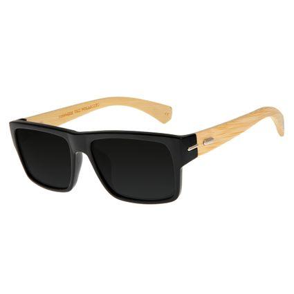 Óculos de Sol Unissex Chilli Beans Polarizado Preto OC.CL.2675-0130