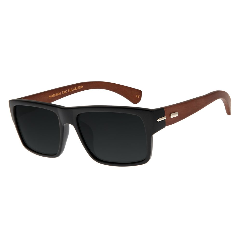 Óculos de Sol Unissex Chilli Beans Polarizado Fosco OC.CL.2675-0131