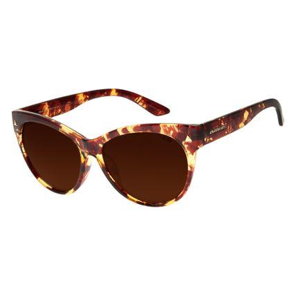 Óculos de Sol Feminino Chilli Beans Tartaruga 2540 a9e1dc5087