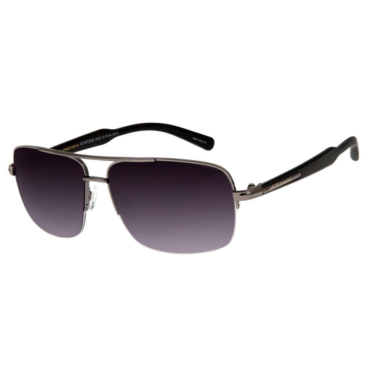 772f47768 Óculos de Sol Masculino Chilli Beans Onix 2522 - OC.MT.2522.2022 G. REF:  OC.MT.2522.2022. OC.
