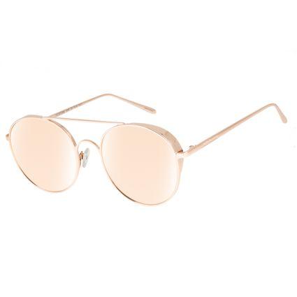 Óculos De Sol Unissex Chilli Beans Banhado A Ouro Rosê OC.MT.2588-9595