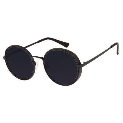 Óculos de Sol Unissex Chilli Beans Preto Bamboo OC.MT.2604-0501