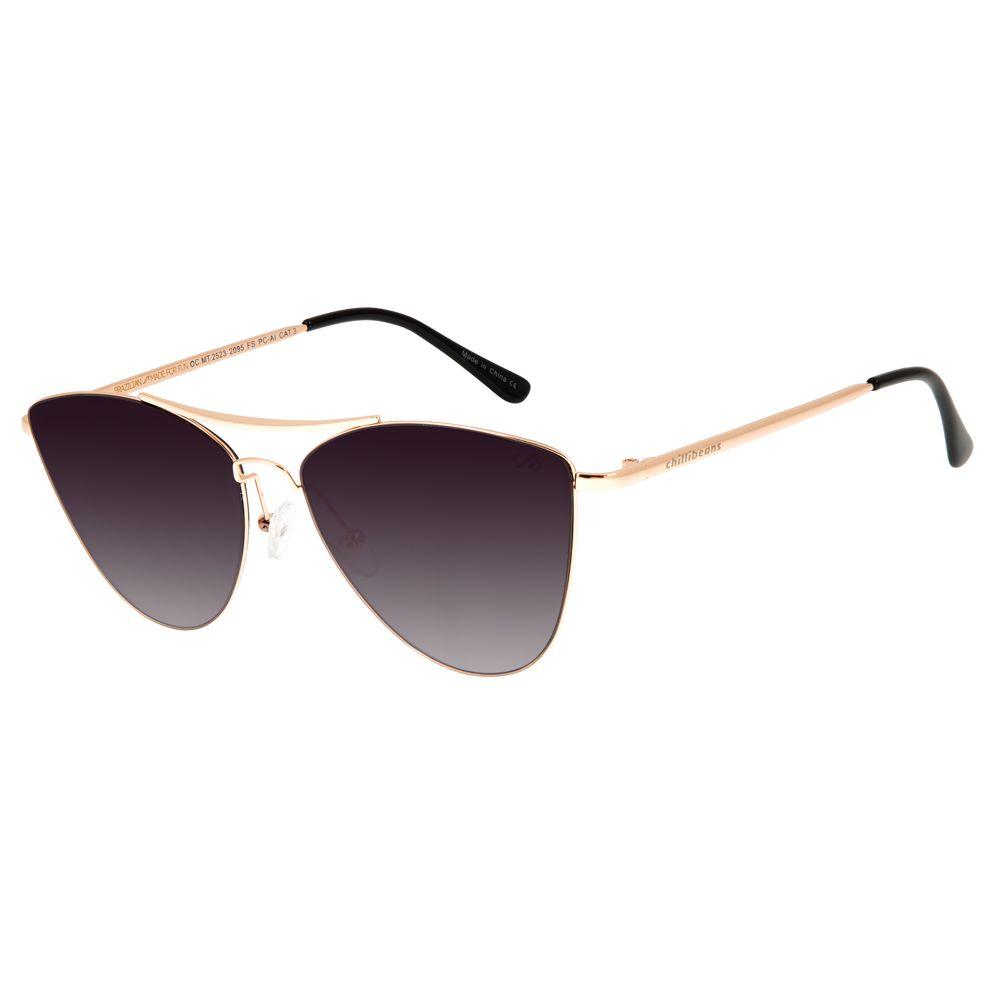 Óculos de Sol Feminino Chilli Beans Rose 2523 - OC.MT.2523.2095 G.  OC.MT.2523.2095 e692fc8e30