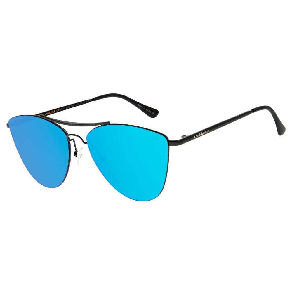 Óculos de Sol Feminino Chilli Beans Preto 2523 - OC.MT.2523.2501 G.  OC.MT.2523.2501 339ab1bca1