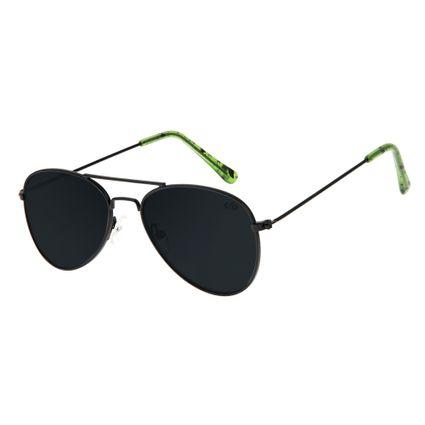 Óculos de Sol Infantil Chilli Beans Preto 0585 a3bfd774da