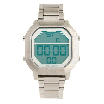a9854fcee7e11 Relógio Masculino Chilli Beans Digital Prata 0772