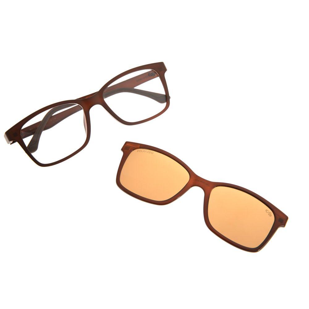 Armação Para Óculos de Grau Unissex Chilli Beans Multi Marrom LV.MU.0026-2102