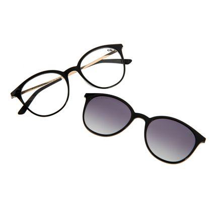 Armação Para Óculos de Grau Unissex Chilli Beans Multi Preto LV.MU.0146-2001