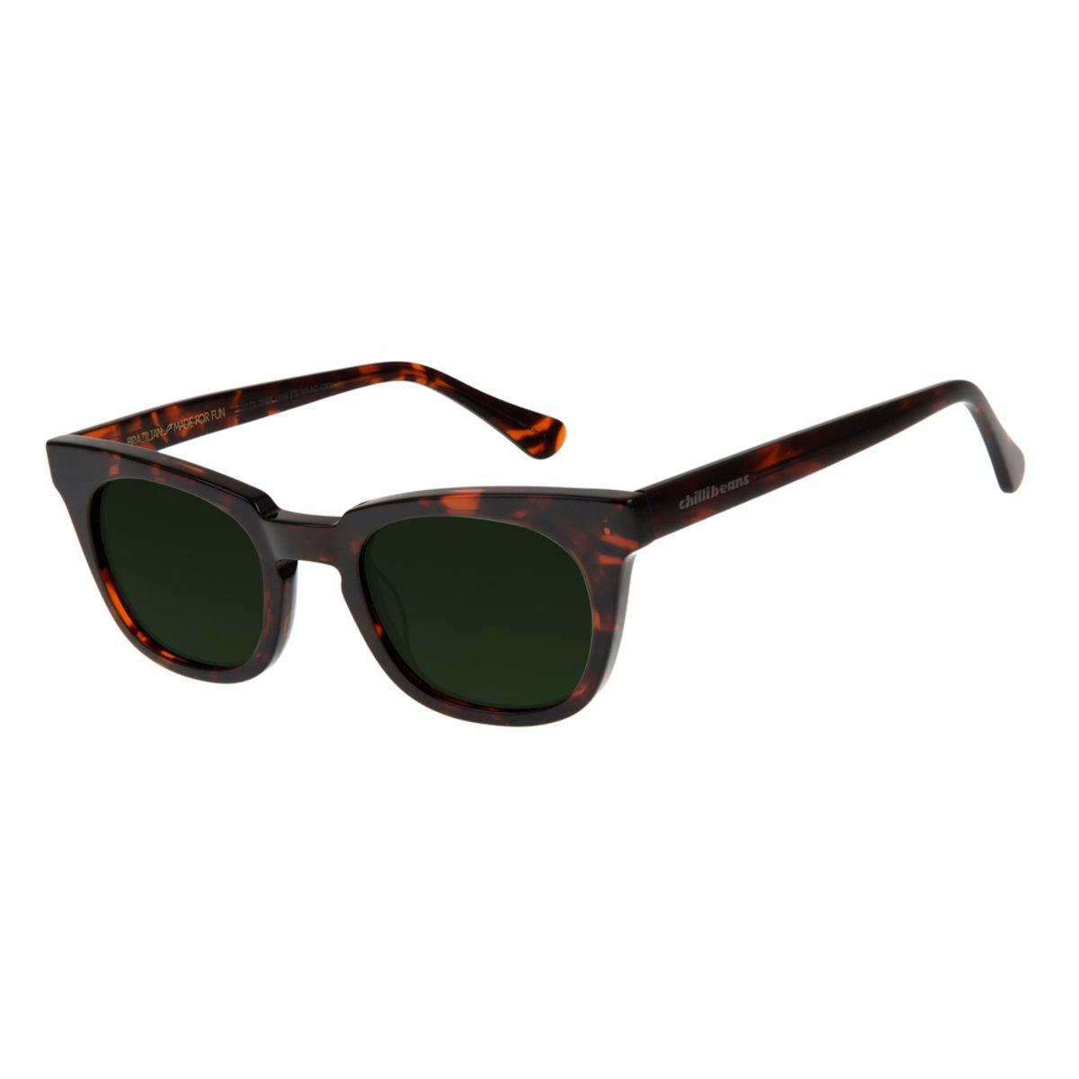 7ab91132e Óculos de Sol Feminino Chilli Beans Tartaruga 2648 - OC.CL.2648.1506 M.  REF: OC.CL.2648.1506. OC.