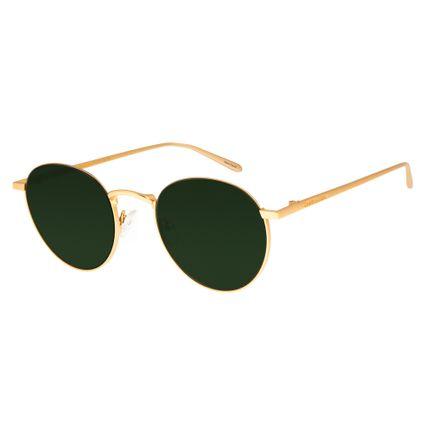 Óculos de Sol Feminino Chilli Beans Dourado 2590 98543723c6