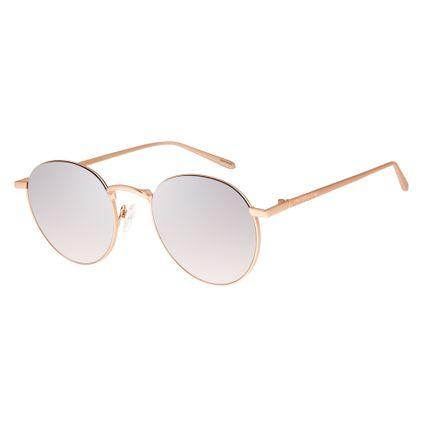 Óculos de Sol Unissex Chilli Beans Rose Banhado A Ouro OC.MT.2590-3295