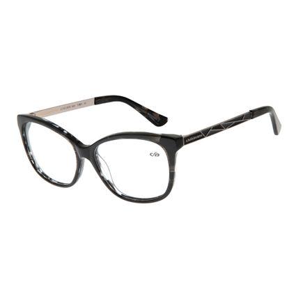 Armação Para Óculos de Grau Feminino Chilli Beans Cinza LV.AC.0439-0404