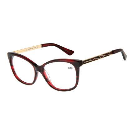 Armação Para Óculos de Grau Feminino Chilli Beans Gatinho Vermelho LV.AC.0439-1616