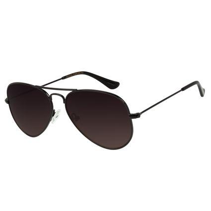 Óculos de Sol Unissex Chilli Beans Aviador Preto OC.MT.2511-2001