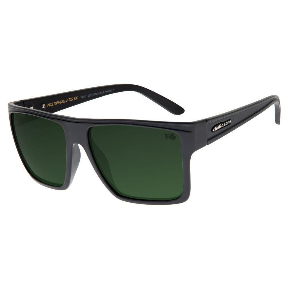 Óculos de Sol Unissex Chilli Beans Azul Polarizado Essential OC.CL.2203-1508