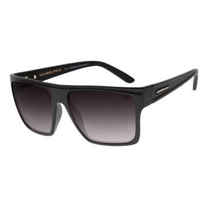 28361bbf7 Óculos de Sol Unissex Chilli Beans Quadrado Preto 2007
