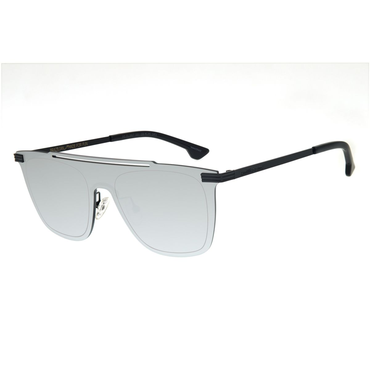 31bb02a9f Óculos de Sol Chilli Beans Masculino Máscara Espelhado 3201 - Chilli ...