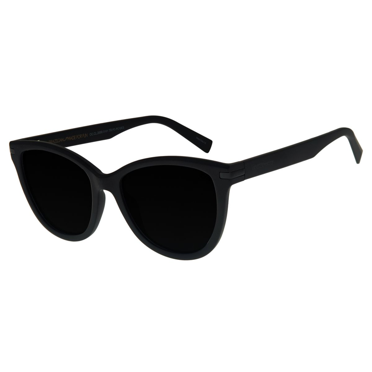 38c54860b Óculos de Sol Chilli Beans Feminino Redondo Preto - Chilli Beans