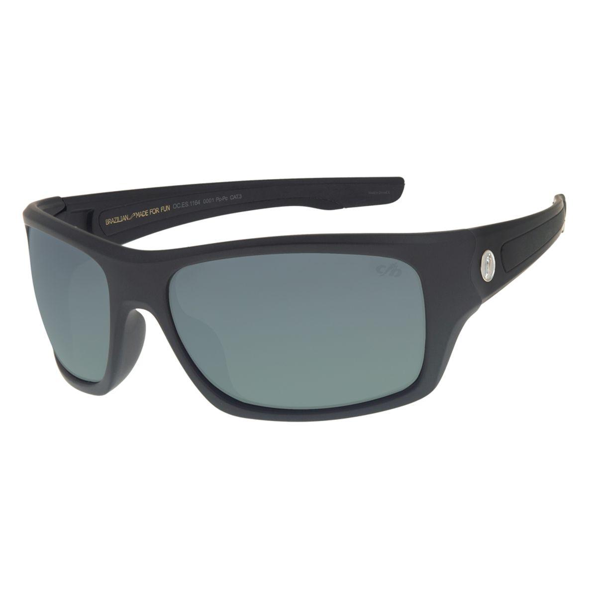 a97476eb8 Óculos de Sol Chilli Beans Masculino Esportivo Preto - Chilli Beans