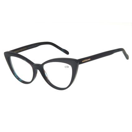 Armação para Óculos de Grau Feminino Chilli Beans Gatinho Azul Escuro LV.AC.0462-9090
