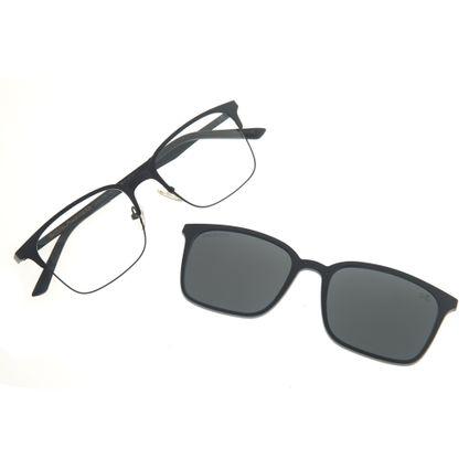 be736970670d0 Armação para óculos de Grau Chilli Beans Multi 2 em 1 Preto Polarizado 0176