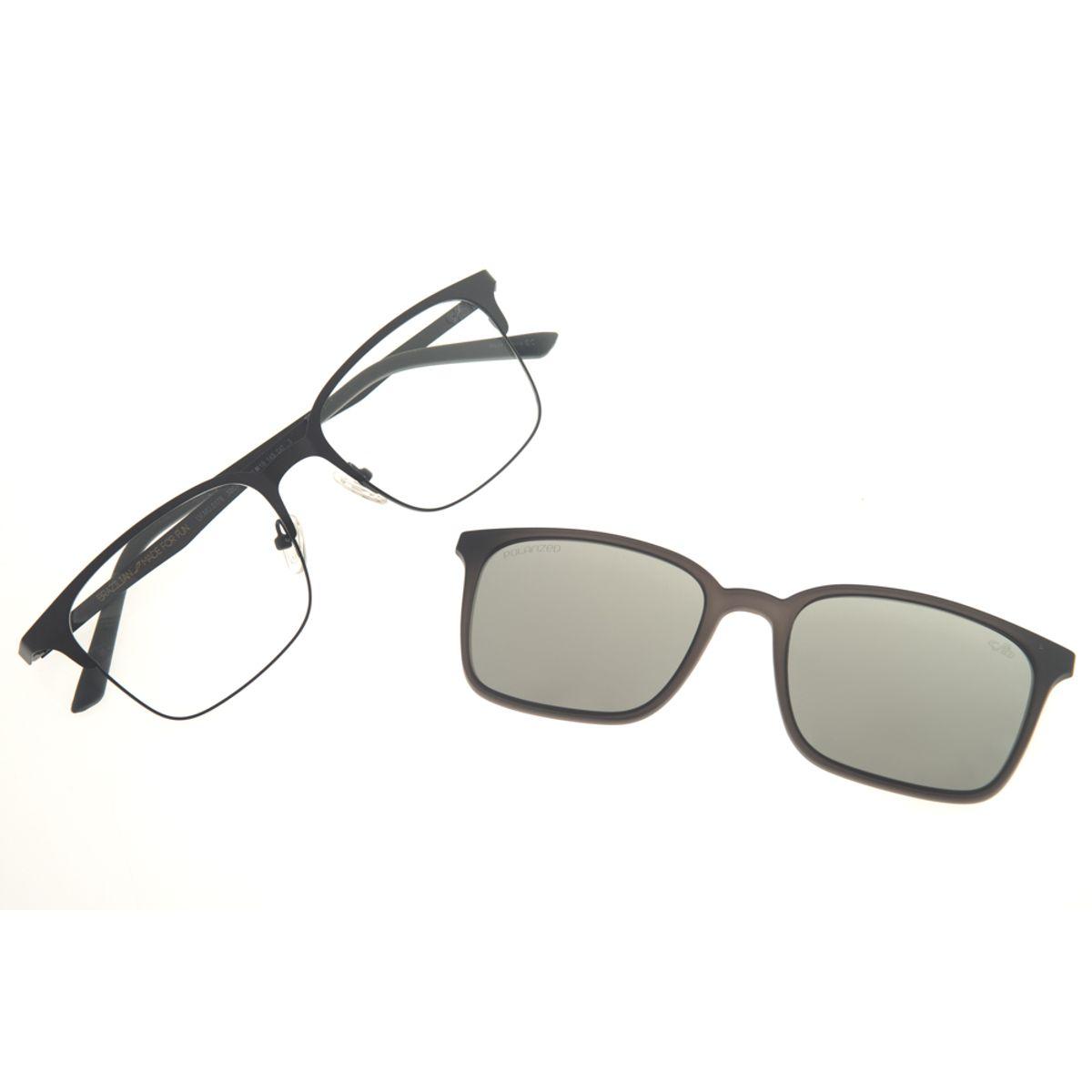 a28b57689 Armação para óculos de Grau Masculina Chilli Beans Multi 2 em 1 ...