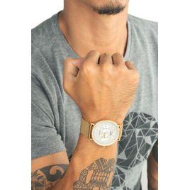 46a4dfd36 Relógio Masculino Vintage Por Marcelo Sommer Dourado 0665