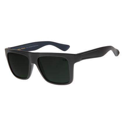 df7e83934 Óculos de Sol Masculino Chilli Beans Retangular Preto 2199