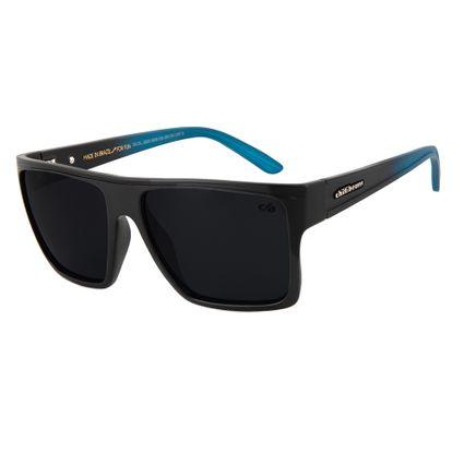 75d340f1de0e1 Óculos De Sol Chilli Beans Unissex Quadrado Preto Polarizado 2203