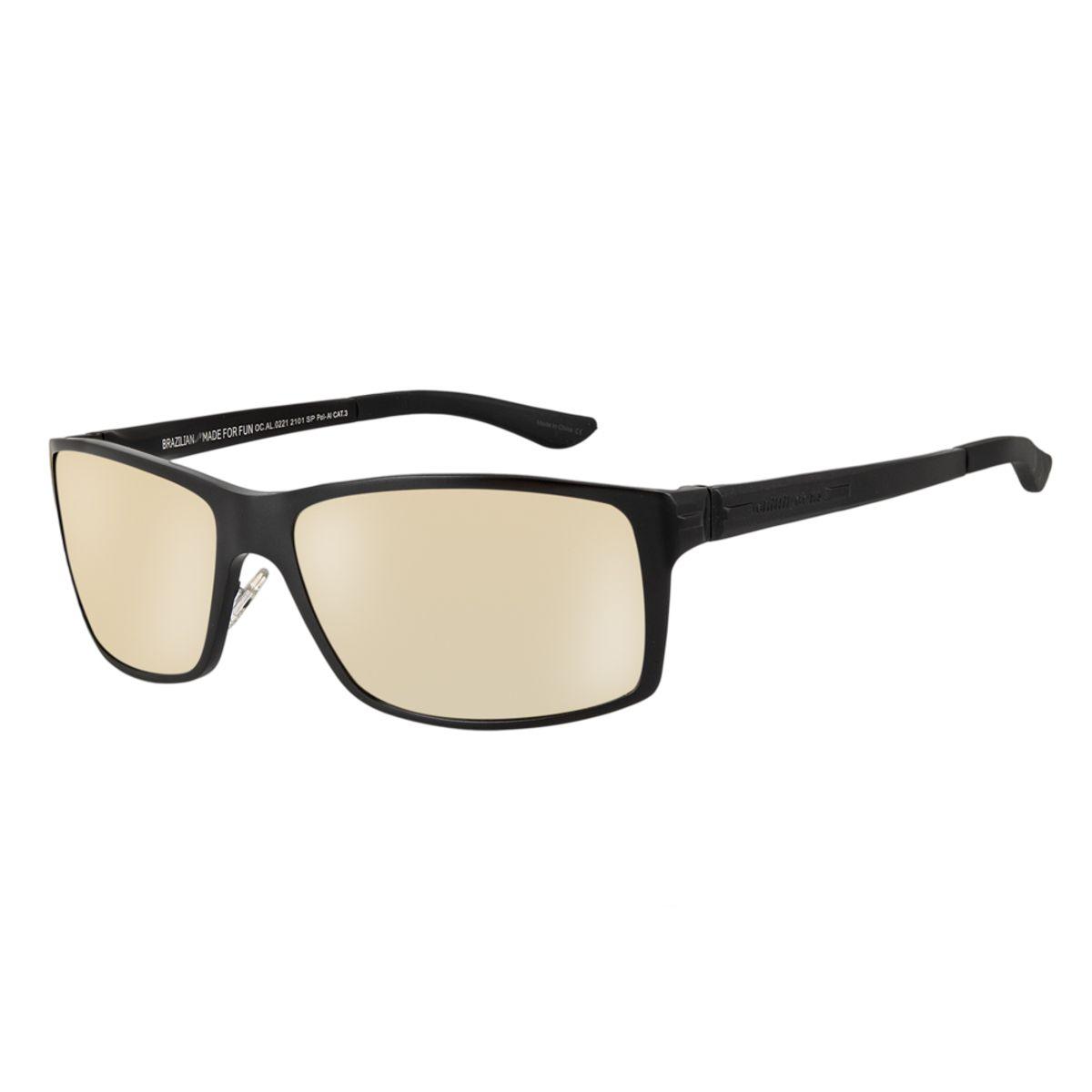 f3312f779 Óculos de Sol Chilli Beans Masculino Esportivo Polarizado Preto 0221 -  OC.AL.0221.2101 M. REF: OC.AL.0221.2101. OC.