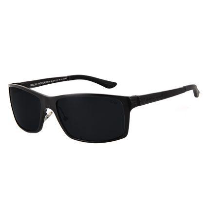 Óculos de Sol Masculino Chilli Beans Esportivo Preto Polarizado OC.AL.0221-0101