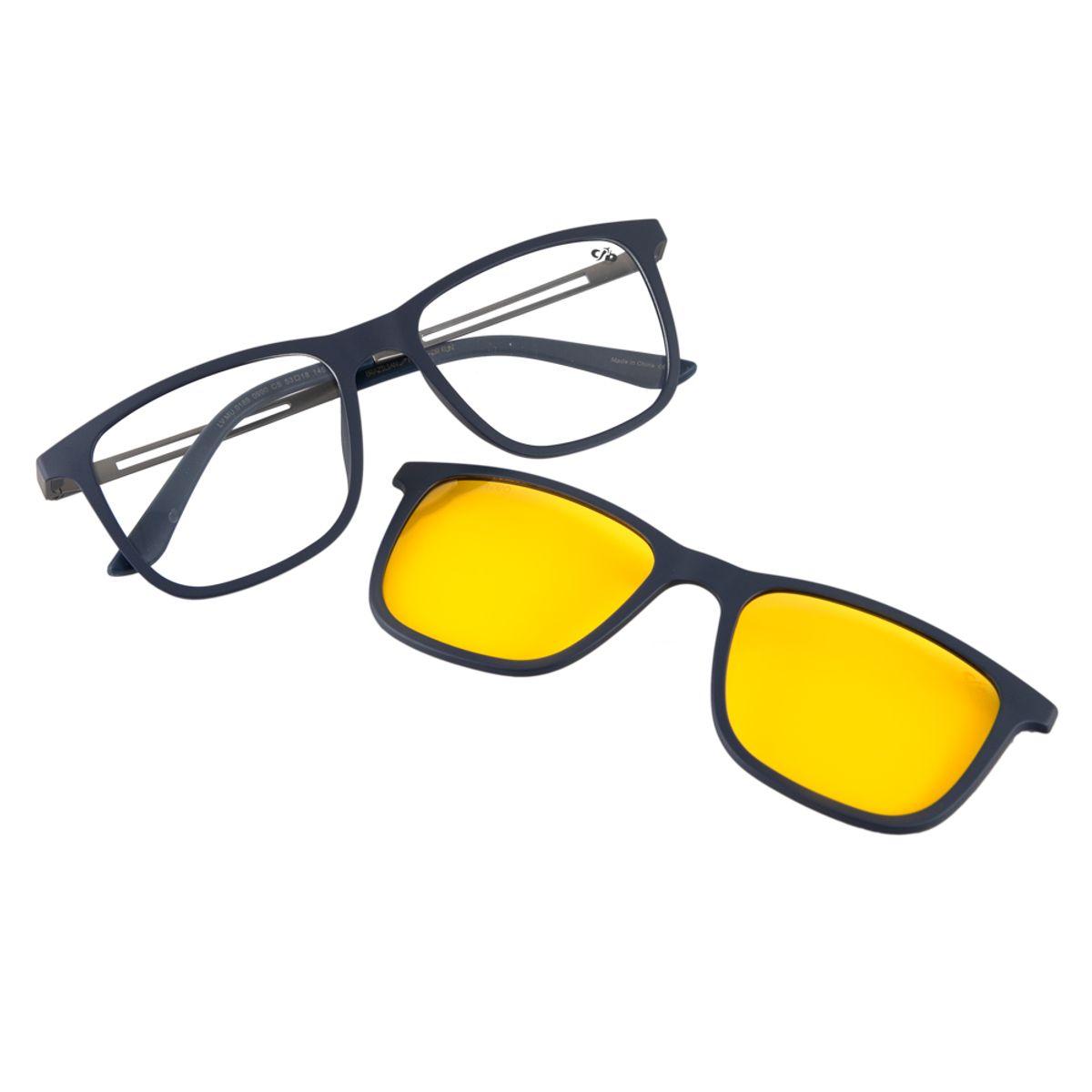 59d343e83 Óculos de Sol Masculino Chilli Beans Drive Amarelo Polarizado 0189 ...