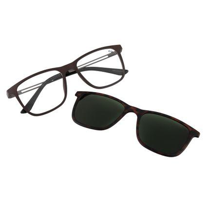 5f3cbea04e5c7 Óculos de Sol Masculino Multi Chilli Beans Marrom Polarizado 0189